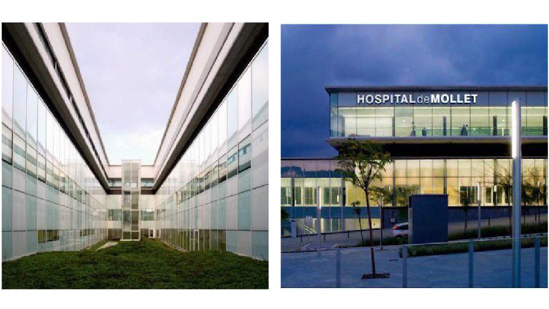 teto radiante hospital mollet
